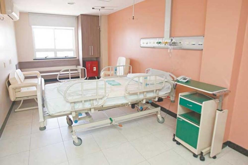Hospital Leonardo da Vinci, reativado para tratar pacientes na pandemia, tem 28 internados com Covid-19. — Foto: Divulgação